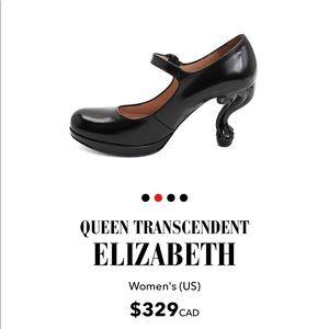 John Fluevog Queen Transcendent Elizabeth Black